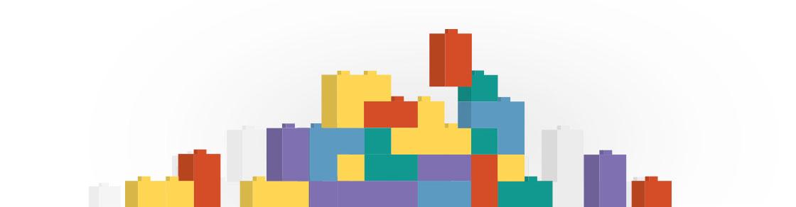 Byggeklodserne i billetsystemet sammensættes, så de passer til dit behov