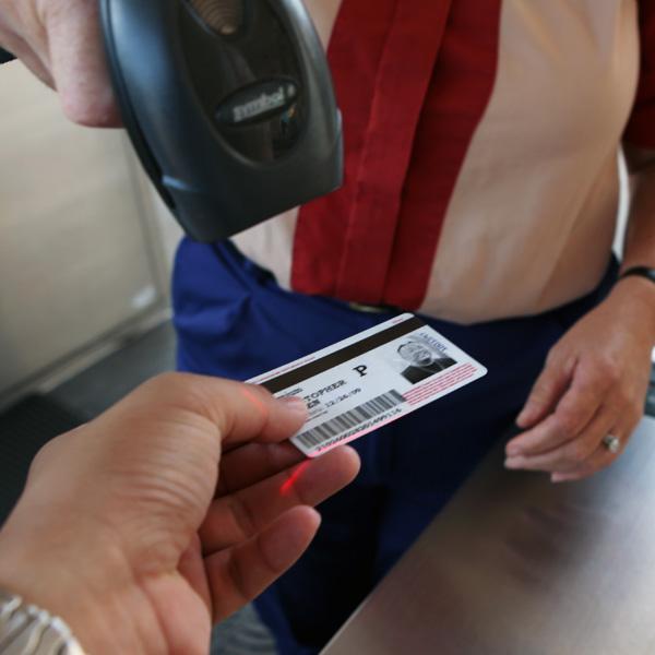 Scanning af billet med en USB-scanner