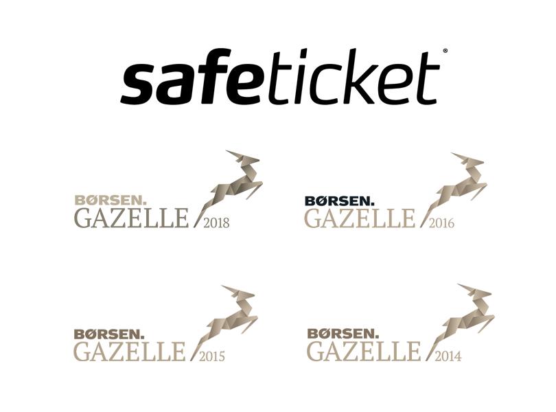 Safeticket A/S er kåret som Børsen Gazelle i 4 år.