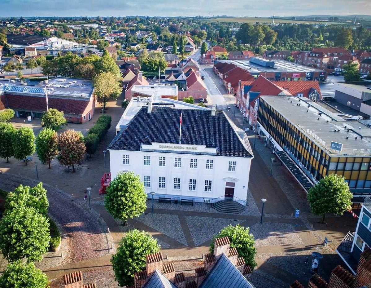 Djurslands Bank har været kunde hos og brugt Safeticket siden 2015