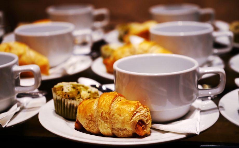 Kaffepause til arrangement